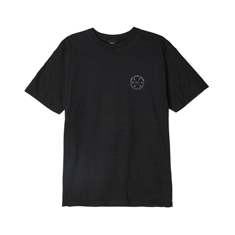 Obey Doomsday Basic T-Shirt Black 163082324