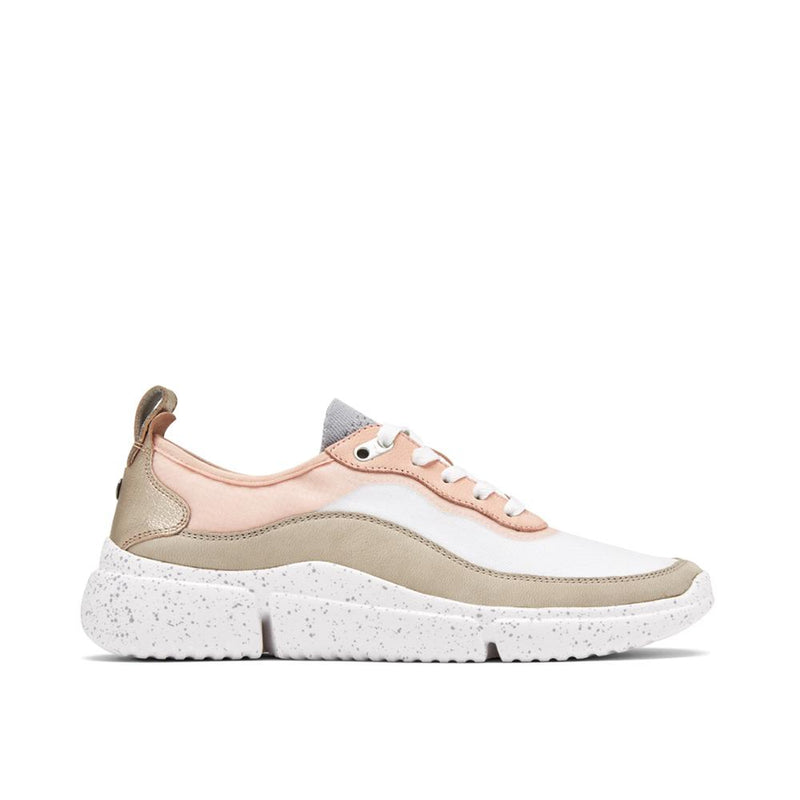 Rockport Women's R-Evolution Mesh Sneaker Pink/Taupe/White CH8511