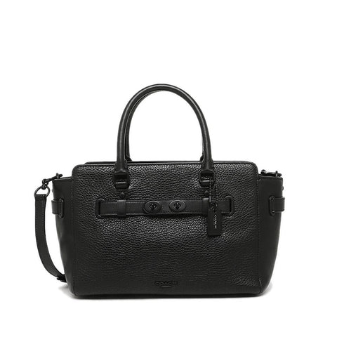 Coach Blake Carryall Bubble Leather Black  F55665