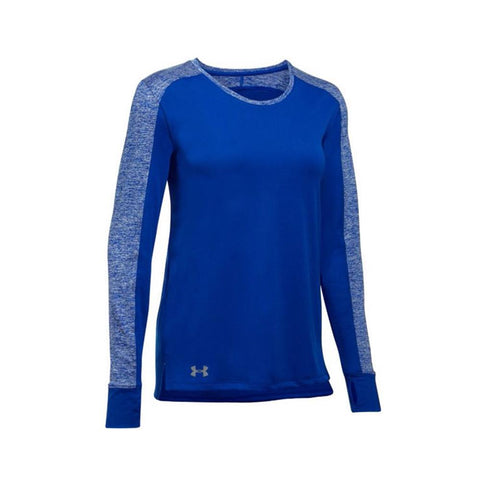 Under Armour Women's Favorite Long Sleeve Royal/Silver 1302555-400