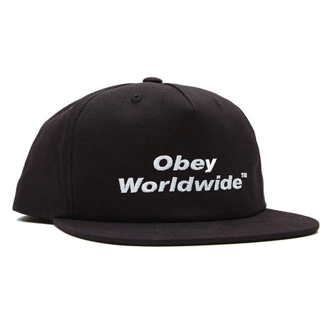 Obey Total Snapback Black 100570124