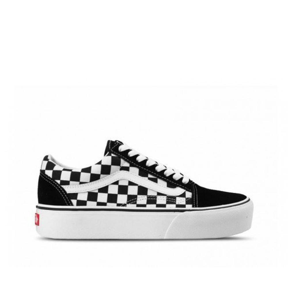 Vans Old Skool Platform Checkerboard Black/True White VN0A3B3UHRK