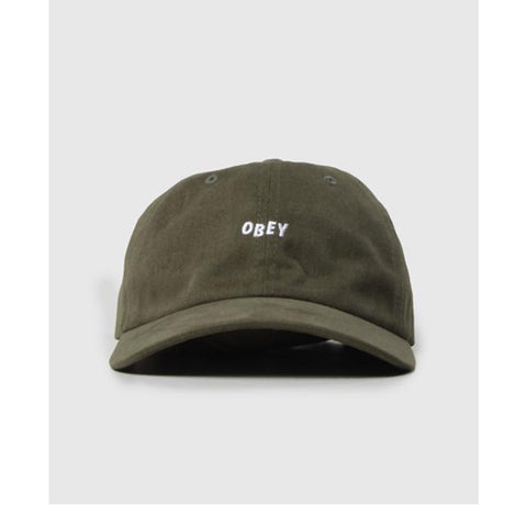 Obey Medley 6 Panel Hat Army 100580109