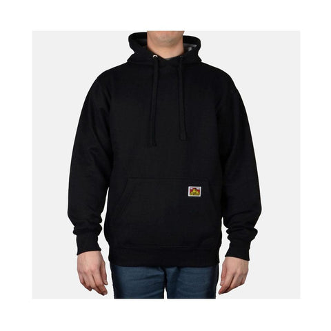 Ben Davis Heavyweight Hooded Sweatshirt Black  984
