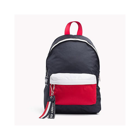 Tommy Hilfiger Tommy Jeans Logo Mini Backpack Corporate AU00185-901