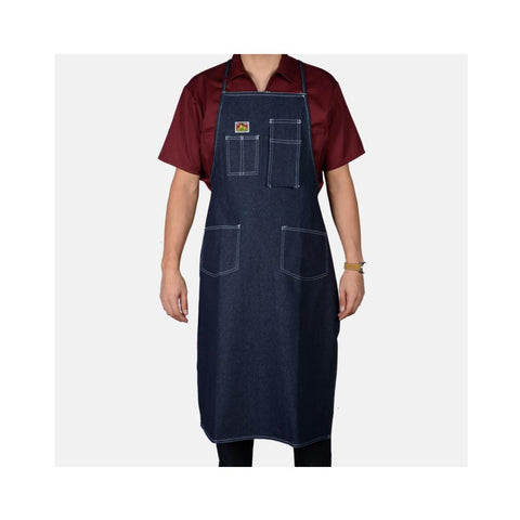 Ben Davis Machinist Apron Indigo Denim 566