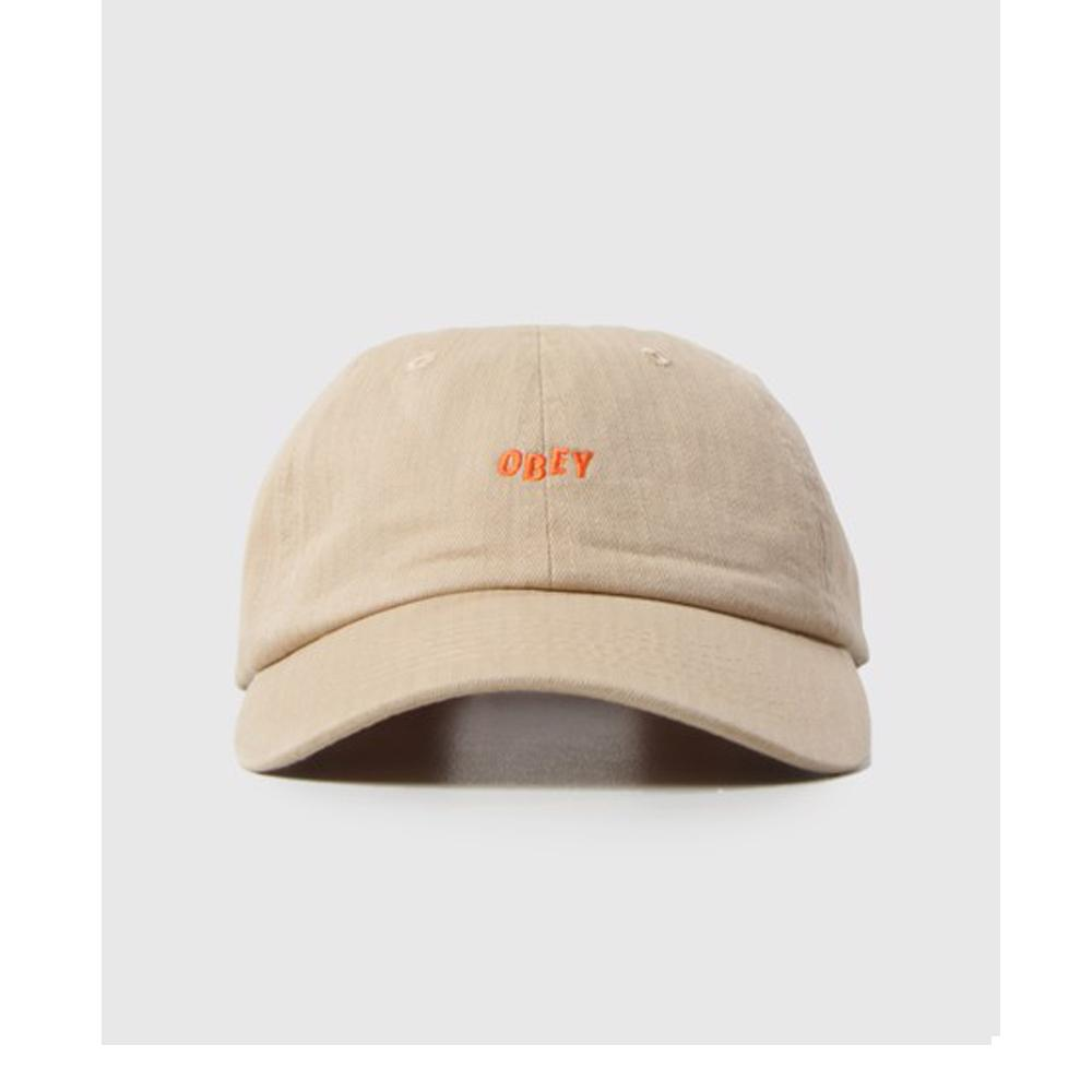Obey Medley 6 Panel Hat Khaki 100580109