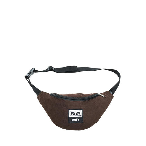 Obey Wasted Hip Bag Brown 100010098