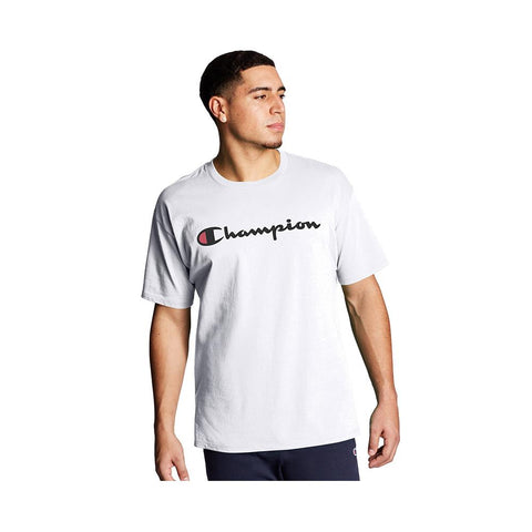 Champion Classic Graphic Jersey Tee White GT23H-Y06794