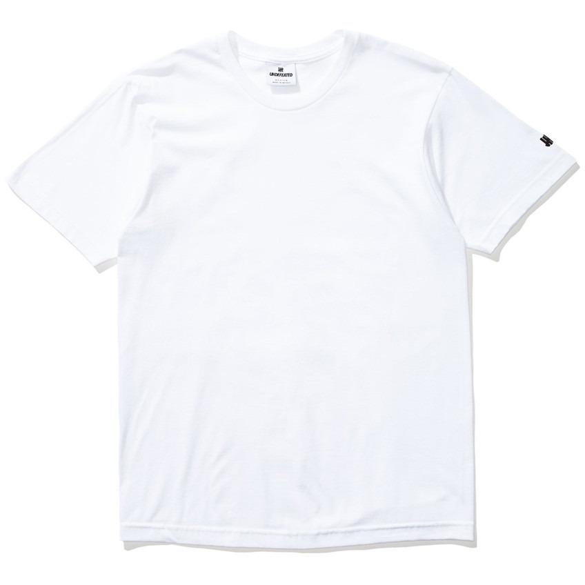 Undefeated Felt Patch Strike Tee White 5900874