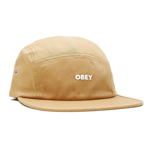 Obey Future 5 Panel Hat Duck Brown 100490073