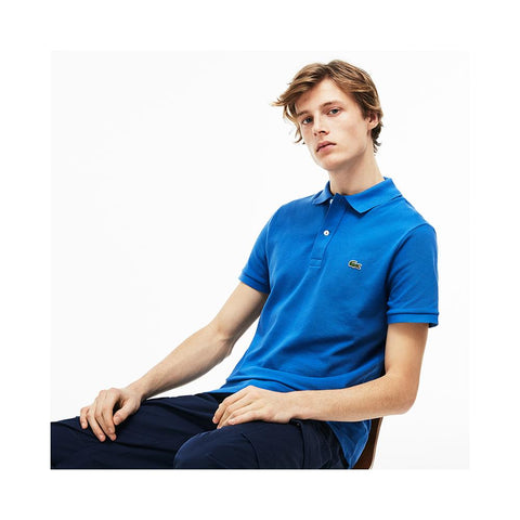 Lacoste Mens Slim fit Petit Pique Polo Shirt Medway PH4012-51 TUC