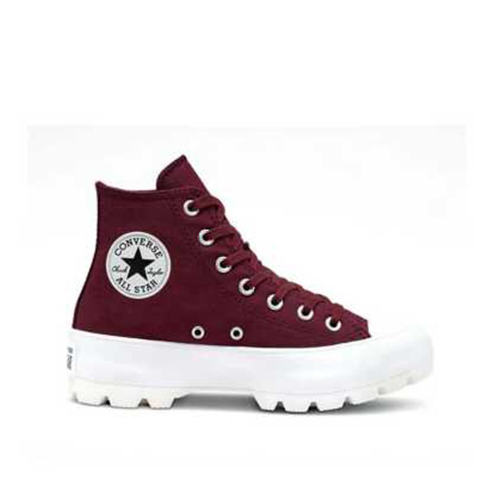 Converse Lugged Chuck Taylor All Star Hi-top Dark Burgundy 566284C