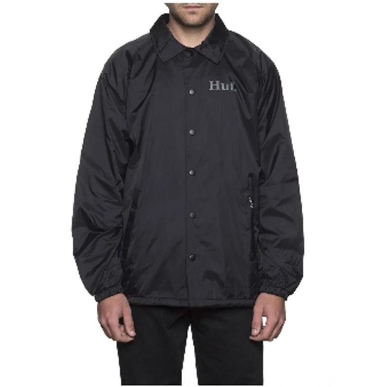 Huf X Pp Coach's Jacket Black JK75302