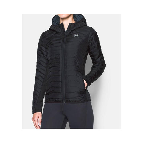 Under Armour ColdGear Reactor Hybrid Women's Ski & Snowboard Jackets & Vests Black/Black 1296863-001
