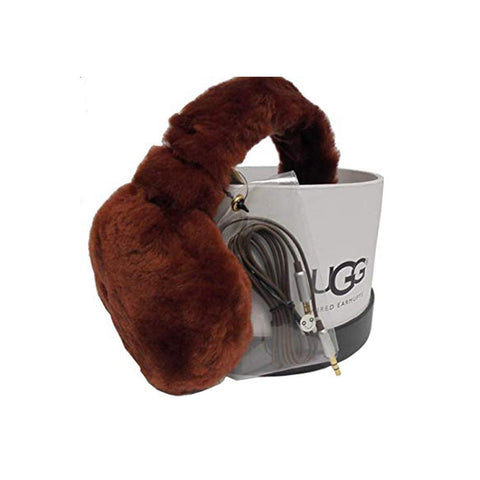 7b492a3d912 Ugg Women s Sheepskin Headband Earmuff Auburn Brown 17400 · APLAZE