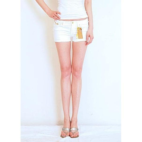 Robins Jean Marilyn Shorts White