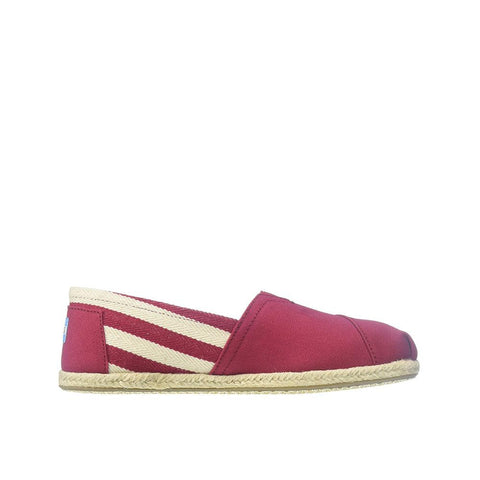 Toms University Womens Classic Red Stripe 10005421