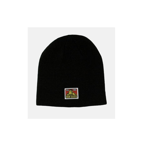 Ben Davis Skully Cap with Logo Black 9293