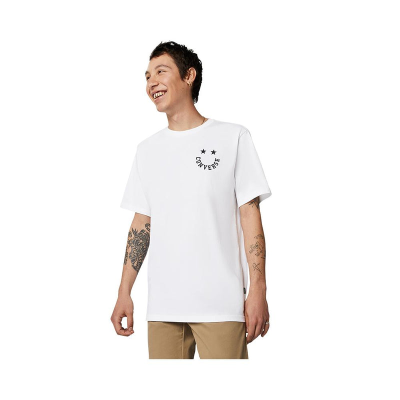 Converse Converse Smiley Tee White 10018859 102