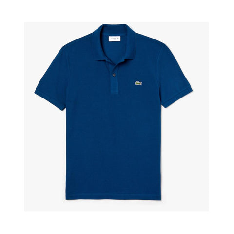 Lacoste Men's Slim fit Petit Pique Polo Shirt Raffia Matting PH4012-51 Z1G