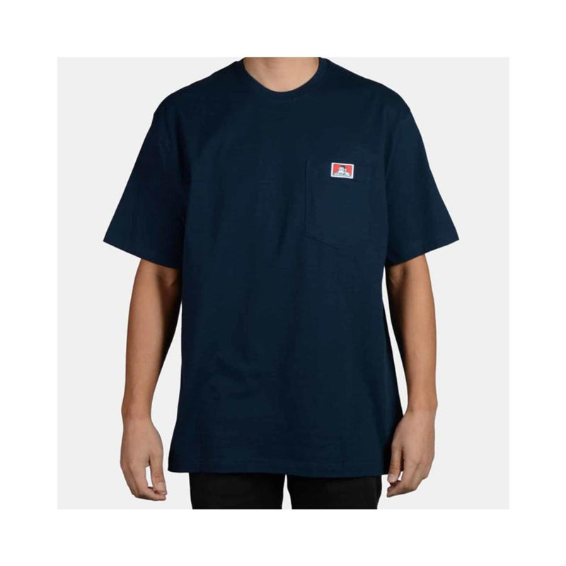 Ben Davis Heavy Duty Short Sleeve Pocket T-Shirt Navy 918