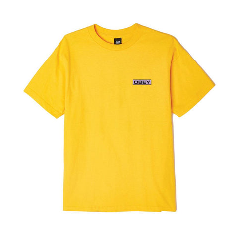 Obey Depot Basic Tee Gold 163082197