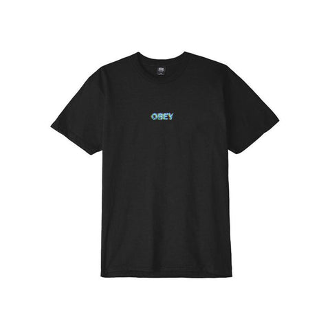 Obey Creep Scan Basic Tee Black 163081629