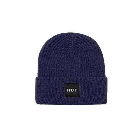 HUF Essentials Box Logo French Navy BN00090