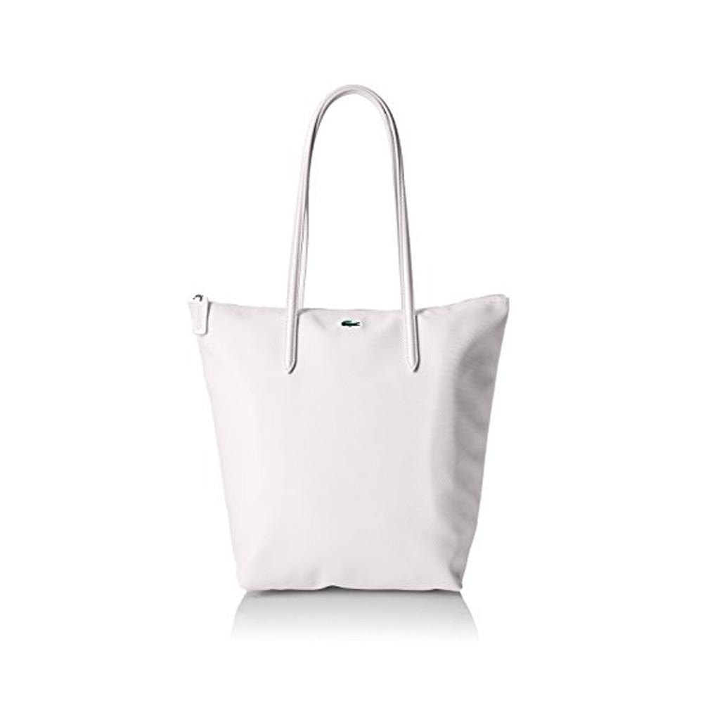 Lacoste L.12.12 Concept Vertical Shopping Bag Bright White NF1890PO-001