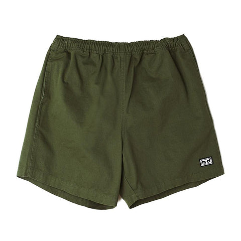 Obey Easy Relaxed Twill Short Park Green 172120057