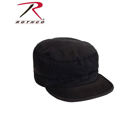 Rothco Solid Vintage Fatigue Cap Black 4503