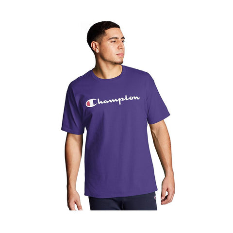 Champion Classic Graphic Jersey Tee Purple GT23H-Y06794