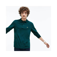 Lacoste Mens Long Sleeve Classic Pique Polo Aconit L1312-51 E76