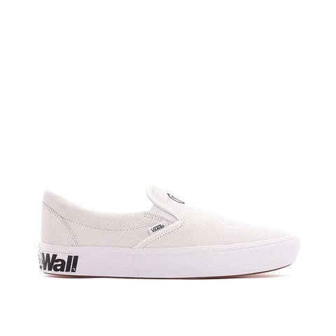 Vans Comfycush Slip-On Distort  Blanc/White VN0A3WMDVX7