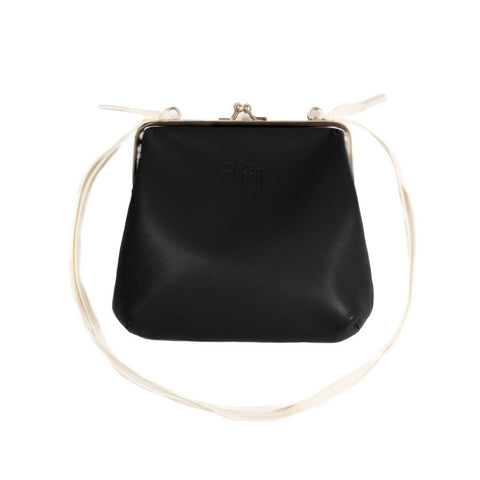 Stussy Vita Kisslock Purse Black 234071