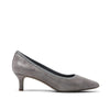 Rockport Total Motion Kaiya Pump Heel Grey Plaid Leather CI2263