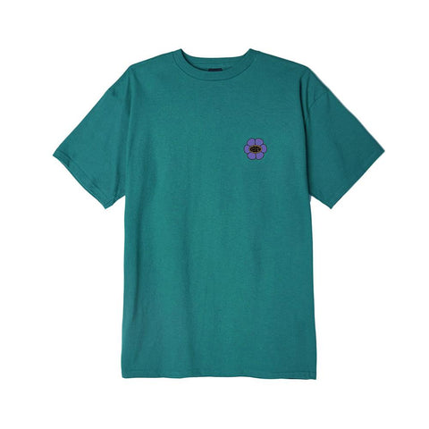 Obey Daisy Ave. Basic T-Shirt Teal 163082322