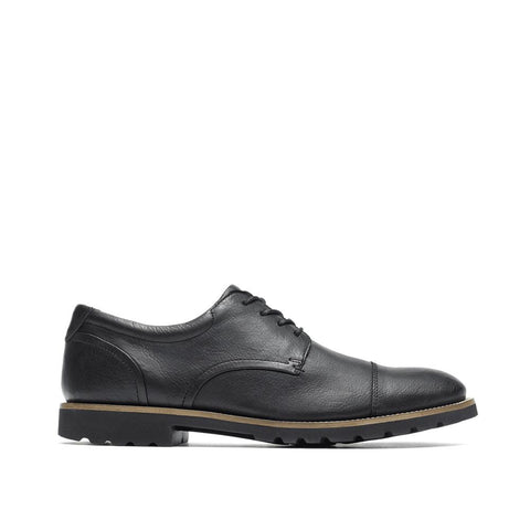 Rockport Men's Sharp & Ready Channer Cap Toe Black V74249