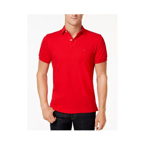 Tommy Hilfiger Ivy Polo Shirt  Apple Red  863521684 638