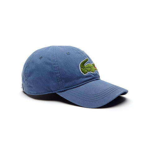 7657d565 Lacoste Men's Big Croc Gabardine Cap King RK8217-51-PQ8