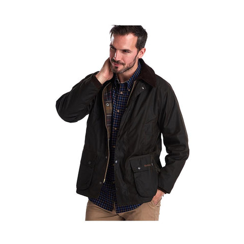 Barbour Men classic Bedale Wax Jacket Olive MWX0010OL71