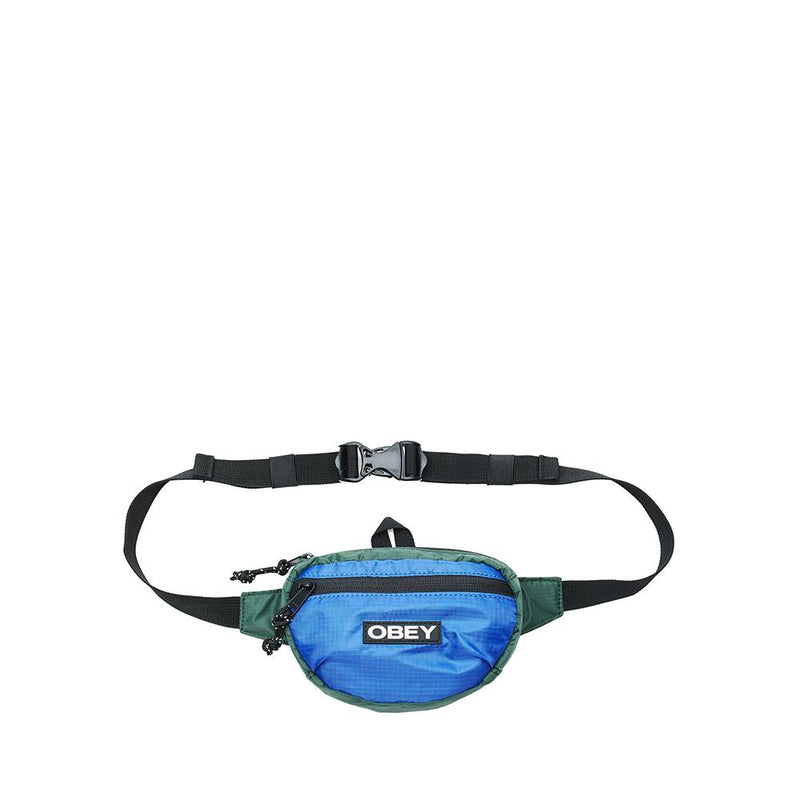Obey Commuter Waist Pouch BLUE MULTI  100010127