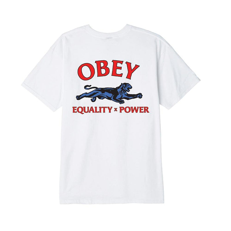 Obey Equality  X Power Basic Tee White 163082235