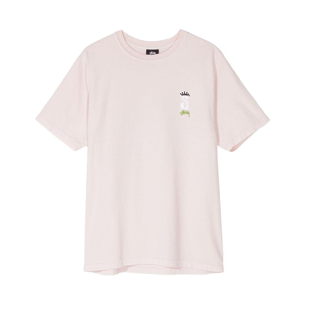 Stussy S Crown Pig. Dyed Tee Blush 2902983