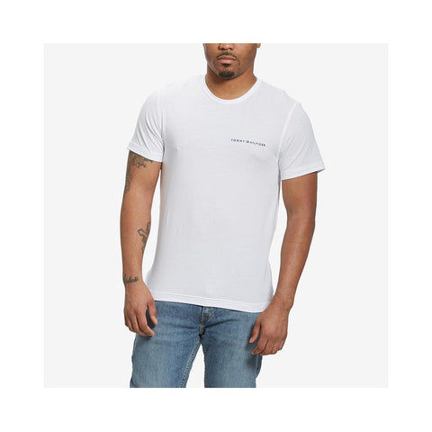Tommy Hilfiger Men's Cool Comfort Crew Neck Tee White 09T3731 100