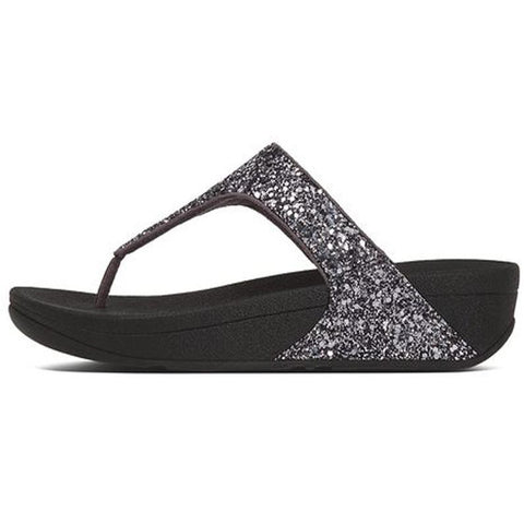 Fitflop Womens Glitterball Toe-thong Sandals Petwer H25-054