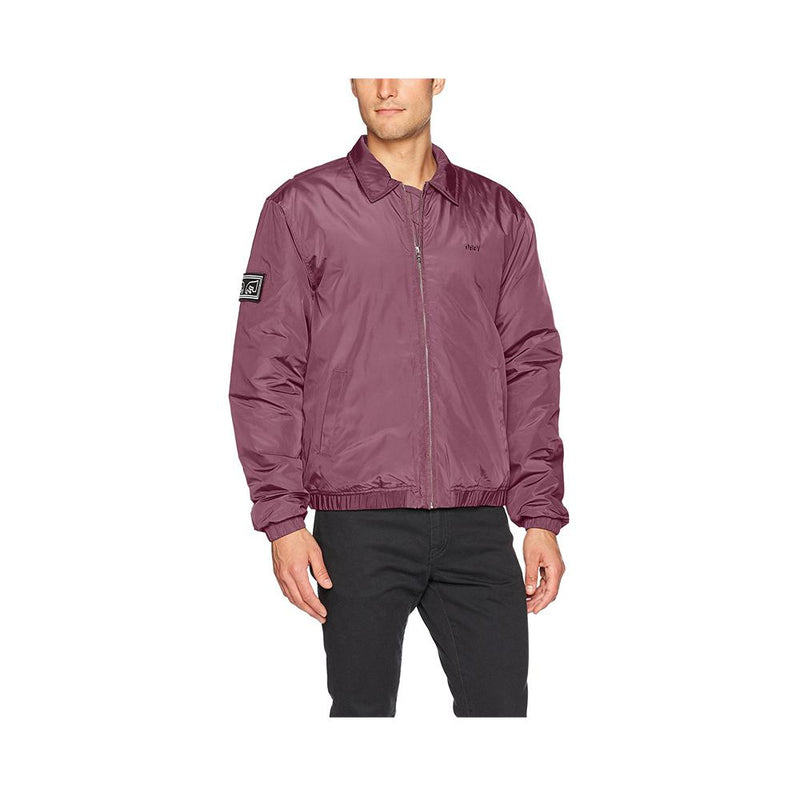 Obey Mission Jacket Eggplant 121800284