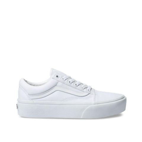Vans Old Skool Platform  True White VN0A3B3UW00