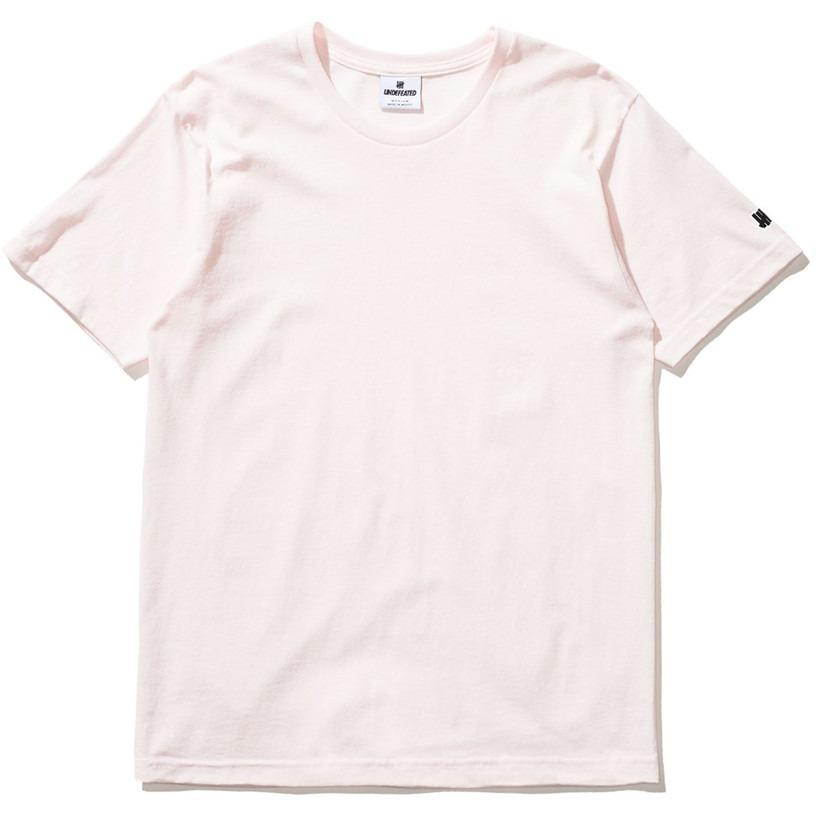 Undefeated Felt Patch Strike Tee Pink 5900874